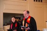 Rev. Kate VanDerzee-Glidden and Rev. David Taylor