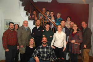 Gathered for Thanksgiving in 2014