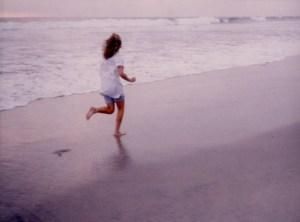 Running beach Don Graham