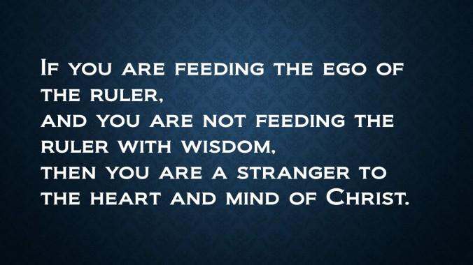 Ego without Wisdom