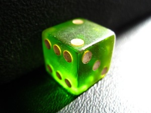 Green Die by Steve Johnson