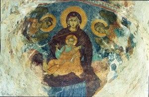 Madonna and Child_Alaverdi_Theotokos,_Georgia
